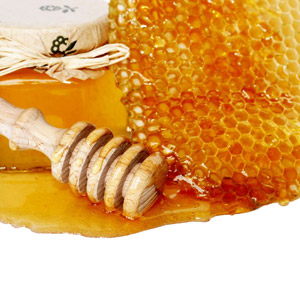 Honey and comb
