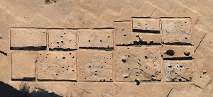 Kite Arial  Photograh of archeological site by Mark Willis