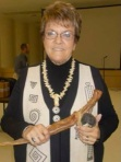 Wendy Lockwood, President of the Texas Archaeological Society