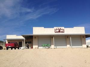 Harrington Campus pavillion at Shumla School, near Comstock, Texas