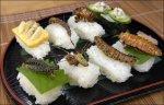 Bug sushi